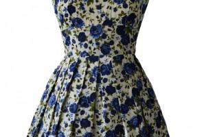 Fashion , 7 Vintage Style Dress : 1950s Vintage Style Dress