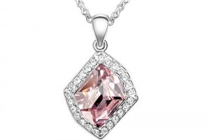 Jewelry , 6 Crystal Necklace : Austrian Crystal Necklace - Angela Autumn (Purple) [DYP081248] - $7.69 ...