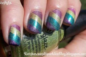 Nail , 6 Scotch Tape Nail Designs : tags mixed media nail art nail art gallery nail designs
