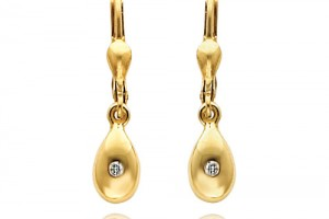 Jewelry , 6 Gold Drop Earrings : yellow gold earrings