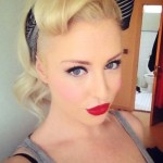 Pin Up Bandana Hairstyles | ... & Beauty / My take on a pin-up bandana ... , 7  Bandana Hairstyles In Hair Style Category