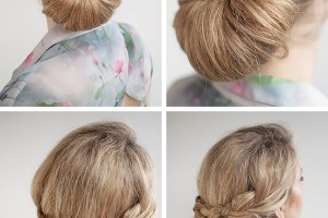 600x898px 6 Buns With Braiding Hair Picture in Hair Style