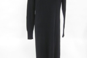 480x640px 7  Long Sleeve Black Sweater Dress Picture in Fashion