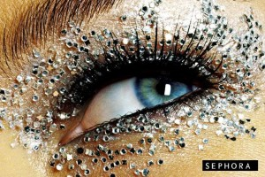 Make Up , 6 Rhinestone Eye Makeup : Rhinestone eyes: makeup tutorials | Bellydance Vogue