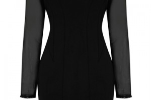 Fashion , 6 Oasis Little Black Dress : Home Trends Little Black Dress Roxy Long Sleeve Mesh Dress