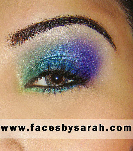 6 Peacock Eye Makeup Tutorial in Make Up