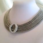 Crystal Multi Strand Chain Necklace via Etsy | Jewelry , 6 Crystal Necklace Etsy In Jewelry Category