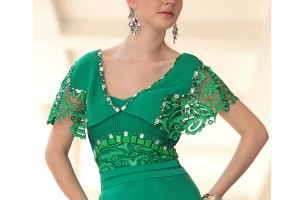Fashion , 6 Green Vintage Prom Dress Designs : in Vintage Green Lace Evening Dress, Dress, green dress evening dress ...