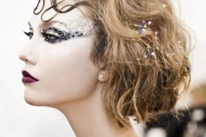 Make Up , 6 Rhinestone Eye Makeup : Rhinestone eye makeup | James Bond Party ideas