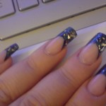 Coloured and pre designed nail tips-black-tips-twilight-evening.jpg , 6 Pre Designed Nail Tips In Nail Category