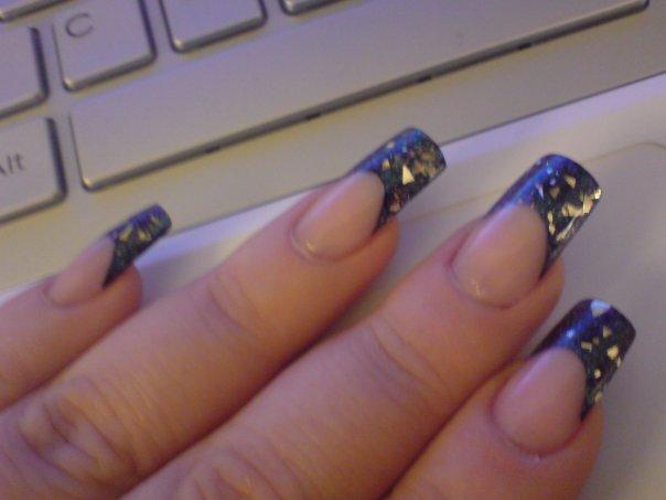 6 Pre Designed Nail Tips in Nail