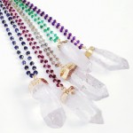Crystal Quartz Wirewrapped Necklace  Jewelry , 6 Crystal Necklace Etsy In Jewelry Category