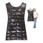 ... JO1036 : Little Black Dress - Jewelry Organizer with foldable hanger , 6 Little Black Dress Jewelry Hanger In Jewelry Category