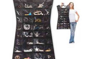 Jewelry , 6 Little Black Dress Jewelry Hanger : ... JO1036 : Little Black Dress - Jewelry Organizer with foldable hanger