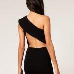 one shoulder backless black dress =love | LIttle BlaCk DreSS , 6 Little Black Dress Backless Idea In Fashion Category
