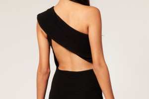 Fashion , 6 Little Black Dress Backless Idea : one shoulder backless black dress =love | LIttle BlaCk DreSS