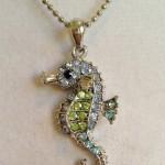 Seahorse Blue Crystal Necklace by joytoyou41 on Etsy, ...   New Jewel ... , 6 Crystal Necklace Etsy In Jewelry Category