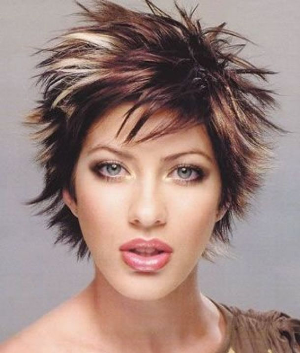 Hair Style , 6 Spiky Short Hairstyles : ... Short » Beautiful Spiky Short Hairstyles For Women Styles #14550