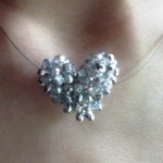 Crystal Heart Necklace - Joqqos Jewels on Etsy!!!! | Hearts #2 , 6 Crystal Necklace Etsy In Jewelry Category