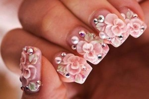 500x333px 6 Red Prom Nail Designs Picture in Nail