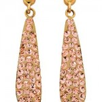 Argos Gold Champagne Crystal Bomb Drop Earrings , 13 Argos Gold Drop Earrings In Jewelry Category