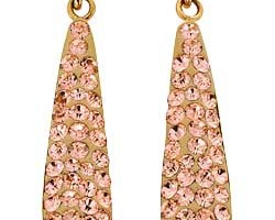 Jewelry , 13 Argos Gold Drop Earrings : Argos Gold Champagne Crystal Bomb Drop Earrings
