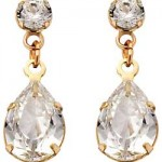 Argos Gold Cubic Zirconia Drop Earrings , 13 Argos Gold Drop Earrings In Jewelry Category