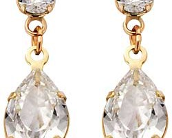 Jewelry , 13 Argos Gold Drop Earrings : Argos Gold Cubic Zirconia Drop Earrings