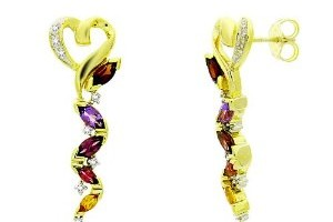 300x300px 13 Argos Gold Drop Earrings Picture in Jewelry