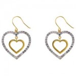Argos Gold Glitter Heart Drop Earrings , 13 Argos Gold Drop Earrings In Jewelry Category