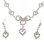 Austrian Crystal Necklace and Earrings Set , 6 Crystal Necklace And Earring Set In Jewelry Category
