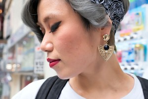Hair Style , 6 Cute Bandana Hairstyles : ... Shibuya Cute Short Hairstyle & Bandana Headband – Tokyo Fashion News