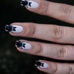 Batty Artificial Nail Art , 8 Batty Nail Art Designs In Nail Category