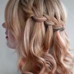 Beautiful Half Up Hairstyle , 4 Medium Length Hair Braid Styles In Hair Style Category
