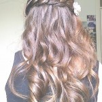 Beautiful curly brunette hairstyle , 6 Braids And Curls Hairstyles In Hair Style Category