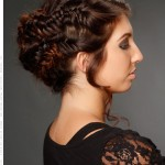 Beautifully Braided Hairstyles for Prom , 6 Small Braided Hairstyles In Hair Style Category