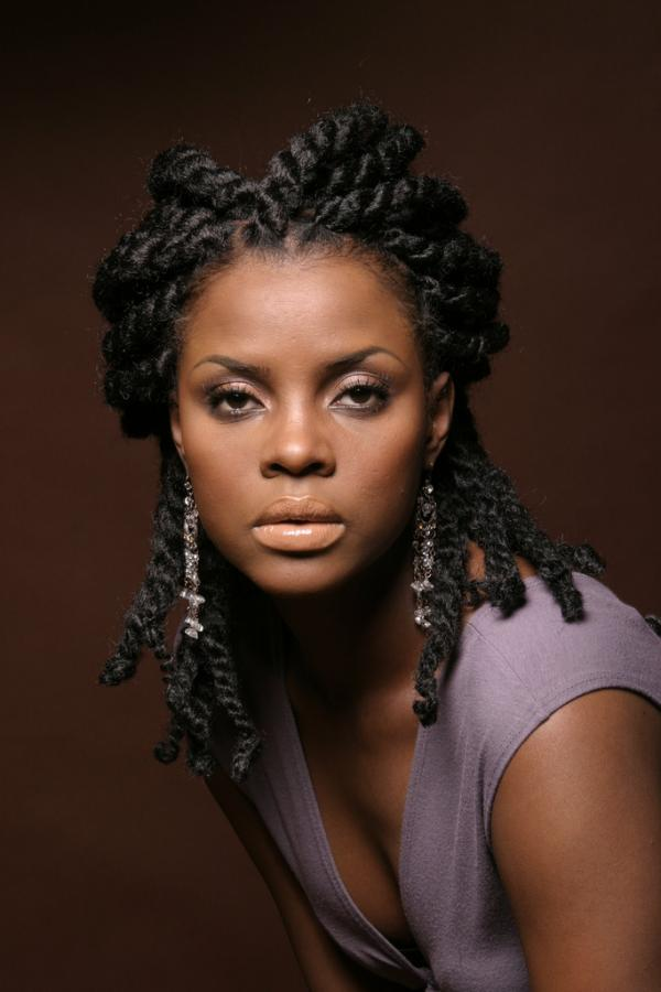 Beauty Of African American Natural Hair Styles Woman