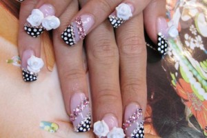 Nail , 6 Artificial Nail Designs : Best Acrylic Nail Designs