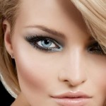 Blue Smokey Eyes bride makeup , 8 Eye Makeup For Blondes In Make Up Category