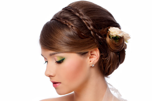 6 Braided Updos For Weddings in Hair Style