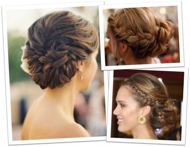 Stupendous Bridal Updo Hairstyles With Braids Braids Short Hairstyles For Black Women Fulllsitofus