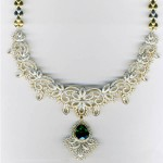 MALAR WORLD: Latest Bridal Diamond Necklace designs , 7 Diamond Necklace Designs In Jewelry Category