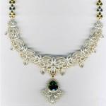 MALAR WORLD: Latest Bridal Diamond Necklace designs , 7 Diamond Necklace Designs In Jewelry Category