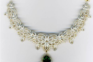 Jewelry , 7 Diamond Necklace Designs : MALAR WORLD: Latest Bridal Diamond Necklace designs