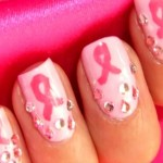 oO Narges Tech Oo.: Breast Cancer Awareness Nail Design , 6  Breast Cancer Nail Designs In Nail Category