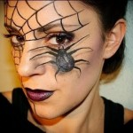 ... , here it is the second carnaval make up tutorial, I hope you li , 7 Spider Web Eye Makeup In Make Up Category