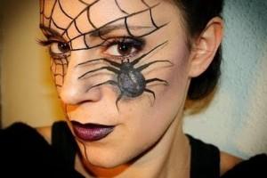 Make Up , 7 Spider Web Eye Makeup : ... , here it is the second carnaval make up tutorial, I hope you li