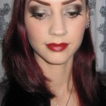 Champagne and Brown Eye Makeup look , 8 Makeup For Brunettes With Brown Eyes In Make Up Category