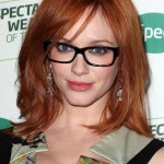 Christina Hendricks Glasses Hairstyle , 4 Short Hairstyles For Women Over 40 With Glasses In Hair Style Category
