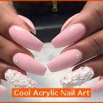 Cool Acrylic Nail Art , 6 Cute Acrylic Nail Designs In Nail Category